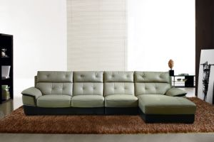 Classic Design Living Room Furniture Leather Couch pictures & photos