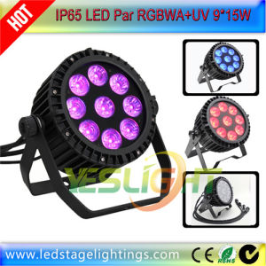6in1 LED Flat PAR Light 19PCS*15W UV+RGBWA pictures & photos