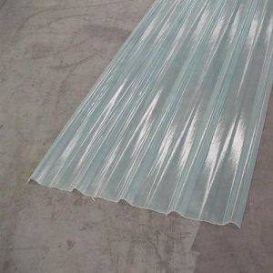 Fiberglass FRP Panel Sheet Skylight Roof Sheet-Semi-Transparent Corrugated Sheet