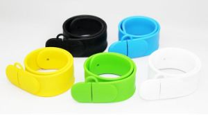 PVC Wristband USB Flash Drive with Your Logo pictures & photos
