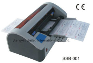 Semi-Automatic Business Card Slitter Cutting Machine Ssb-001