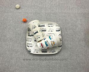 BPA Free Eco Bamboo Fiber Dinnerware Set (YK-S4046) pictures & photos