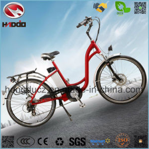 250W Cheap Ebike Electric City Road Scooter Hydraulic Front Fork pictures & photos