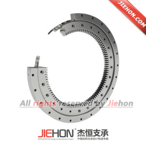 Replacement of Excavator Slewing Bearing with ISO 9001 pictures & photos