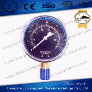 100mm 4′′ Shock-Proof Stainless Steel Oil Filled High Pressure Gauge for Special Use pictures & photos