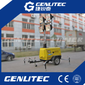 9 Meters Hydraulic Mast Mobile Light Tower (GLT6000-9H) pictures & photos