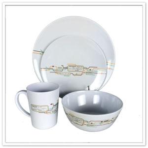 Modern Family Use Different Design Porcelain Like 4PCS Dinner Set pictures & photos