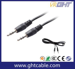1.8m 3.5mm to 3.5mm Male to Male Audio Cable pictures & photos