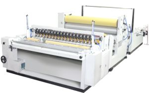 Automatic Rewinding Jumbo Roll Toilet Paper Making Machine/ Jrt Rewinder Machine pictures & photos