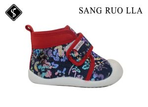 Casual Kids Shoes with Stock Canvas USD1.65 pictures & photos