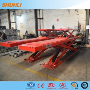 Wheel Alignment Lift in Ground Hydraulic Car Lift pictures & photos