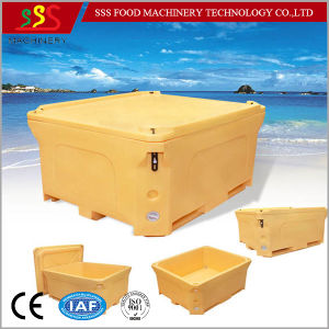 Food Grade PE Fish Ice Cooler Cold Chain Trandporation Storage Box pictures & photos