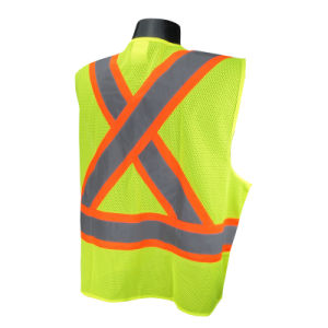 Reflective Vest with ANSI107 Certificate (C2013) pictures & photos