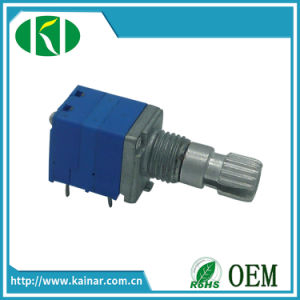 9mm 5 Pins Rotary Potentiometer with Switch Wh9011ak-1 pictures & photos