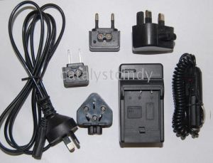 Digital Camera Charger for Sony (FM50, QM71)