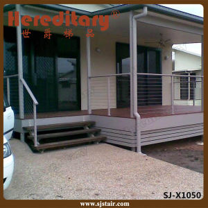 Chinese Manufacture Stainless Steel Deck Railing with Top Handrail (SJ-H1011) pictures & photos