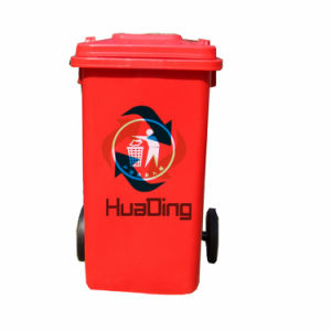 L1100*W850*H700mm Outdoor Plastic Dustbin 360L pictures & photos