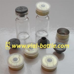 Medical Bottle 2ml With Rubber Stopper and Flip Top Aluminum Seals (hvgv043) pictures & photos