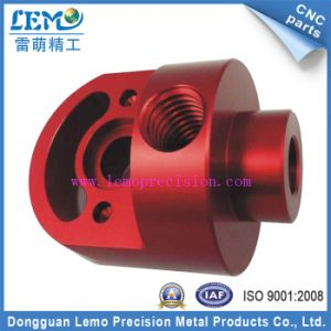 China Precision Machining Parts with Red Anodized (LM-0623B) pictures & photos