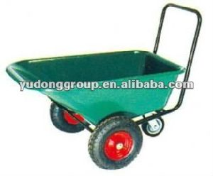 Sale Heavy Duty Two Wheels Garden Wheelbarrow Wb3500 with Plastic Tray Made in China pictures & photos