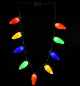 Big Bulbs Glow Necklaces for Christmas Holiday pictures & photos