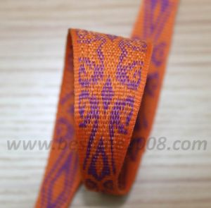 Jacquard Variable Webbing#1401-116 pictures & photos