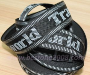 High Quality Jacquard Webbing for Bag and Garment #1312-67 pictures & photos