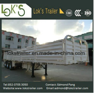 40 Feet 3 Axles 5-Compartment Soil Waste Walled Semi Trailer pictures & photos