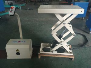 Goods Crane Small Stationary Scissor Lift Table pictures & photos