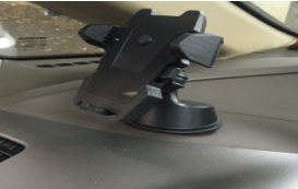 The Car Bracket with ABS and Silica Gel Adjustable Black pictures & photos
