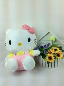 Plush Lovely Kitty Cat Toy. Stuffed Hello Kitty Toy