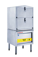 High Quality Seafood Steamer Cabinet for Kitchen Equipment pictures & photos