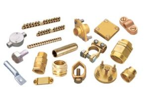 Custom Equipment Brass Earthing Parts pictures & photos