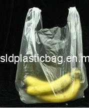 Transparent HDPE T-Shirt Bag pictures & photos