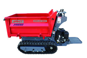 By1000 Small Tractors Construction of Bungalow Tracked 3 Wheel Engine Power Barrow pictures & photos