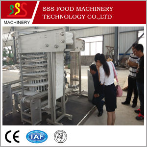 Large Output Whole Chicken Single Spiral Freezer