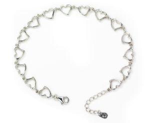 925 Sterling Silver Love Bracelet (VE12)