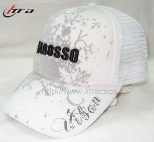 Ttrucker Cap Printing White Hat pictures & photos