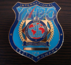 Metal Police Badge (YB- 025)