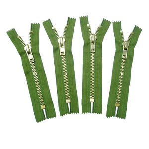 Brass Zipper C/E (No.8)