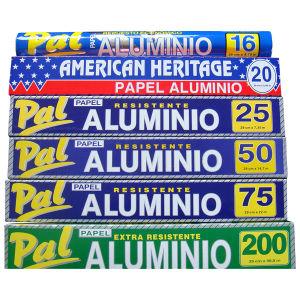 Aluminum Foil (16FT, 20FT, 25FT, 37.5FT) (FDA, ISO9001)