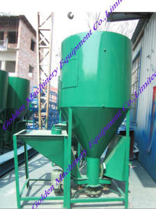 China Animal Feed Pellet Making Mixer Crusher Combined Machine pictures & photos
