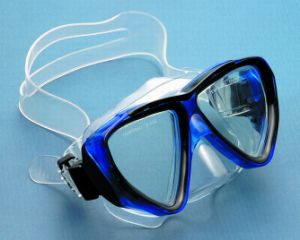 Diving Mask with Easy Adjustable Head Band