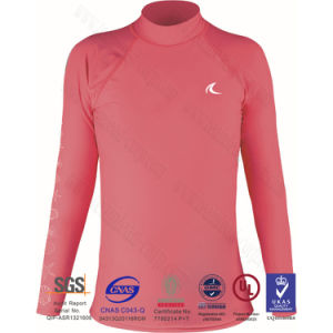Women Long Sleeve Rash Guard pictures & photos
