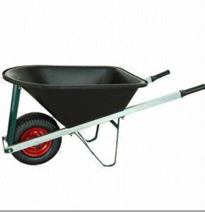 Wheelbarrow with 114L Water Capacity and 150kg Loading Capacity
