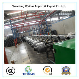 Low Bed Round Beam Axle for Semi Truck Trailer pictures & photos