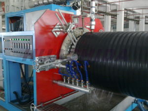 HDPE Hollow Wall Spiral Winding Pipe Production Line pictures & photos