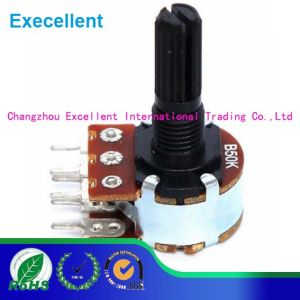 Wh148 0.125W Plastic Knob Potentiometer pictures & photos