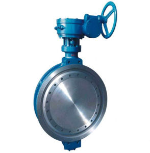 API Wafer Type Turbine Centre Sealing Butterfly Valve