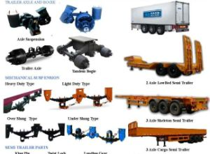 china semi trailer parts china trailer axle truck part